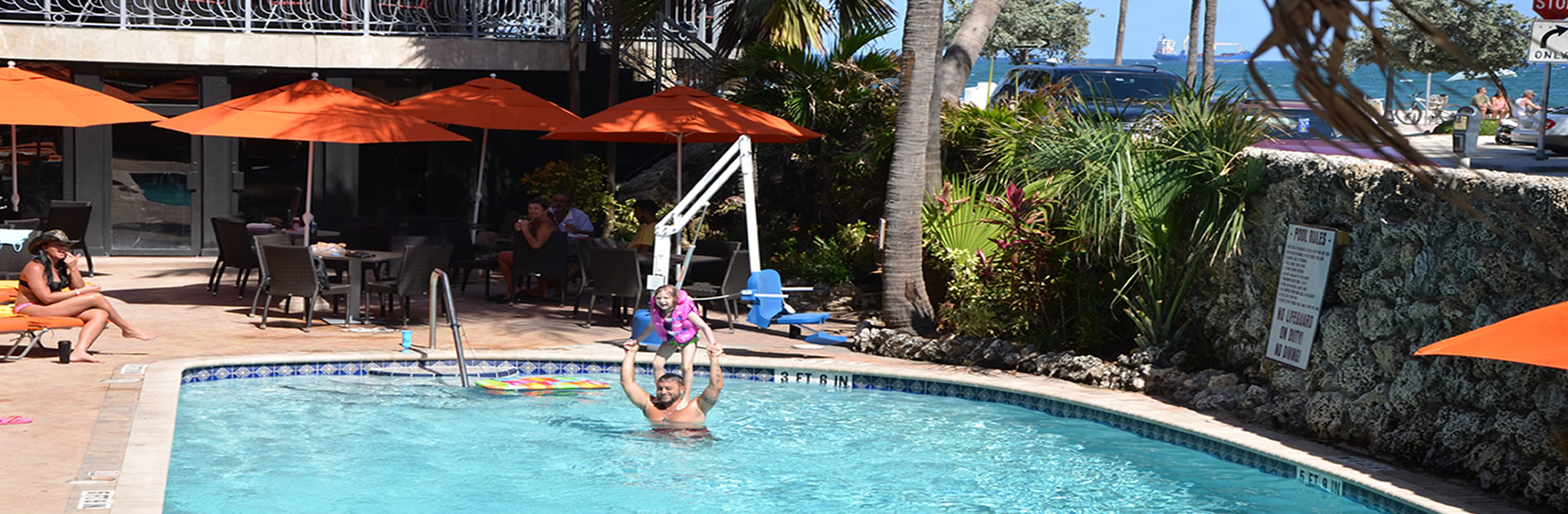 Photo Gallery for the Sea Club Resort, directly on spectacular Fort Lauderdale Beach is relaxed ...
